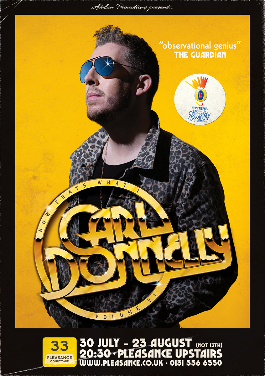 Carl Donnelly comedy photography Dominic Marley