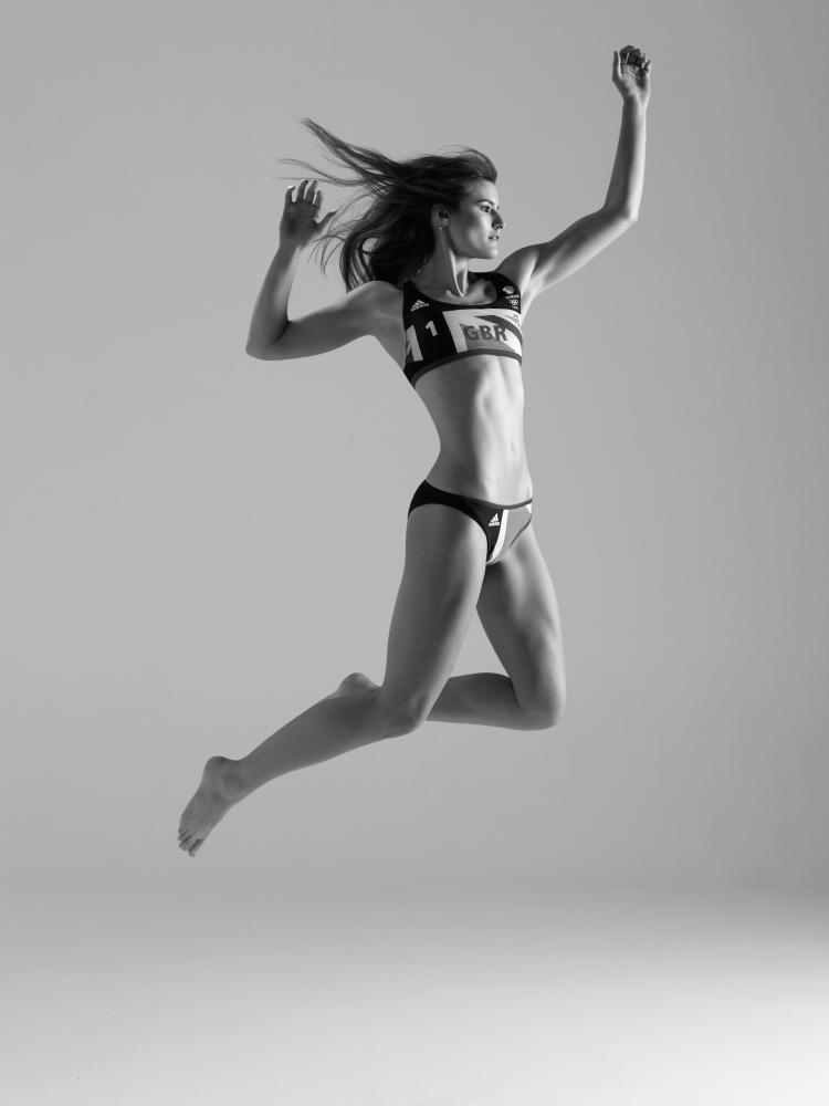 Dominic Marley photographs Zara Dampney