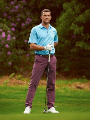 Andriy Shevchenko golf Dominic Marley