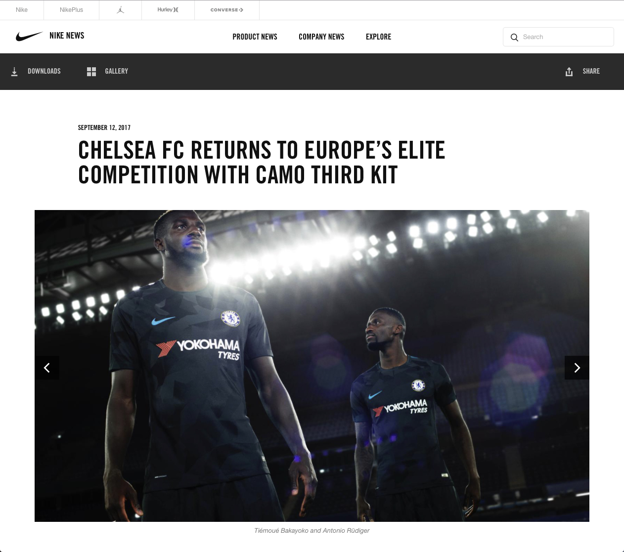 Dominic Marley Nike Chelsea