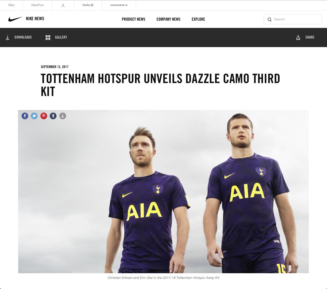 Dominic Marley Nike Tottenham
