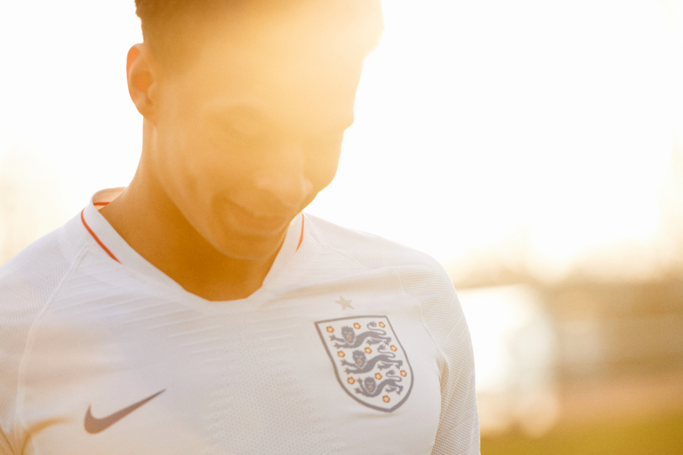 Dominic Marley photographs Dele Alli for Nike England campaign