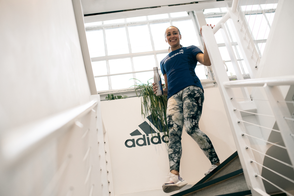 Dominic Marley Adidas Run For The Oceans Jessica Ennis-Hill
