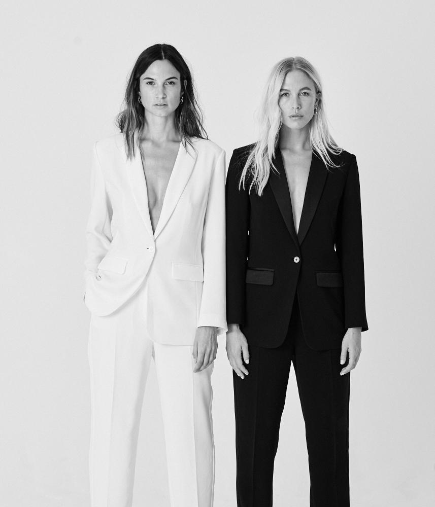 Dominic Marley photographs Sara Johansen and Alice Jeffrey for the White Company Autumn Winter