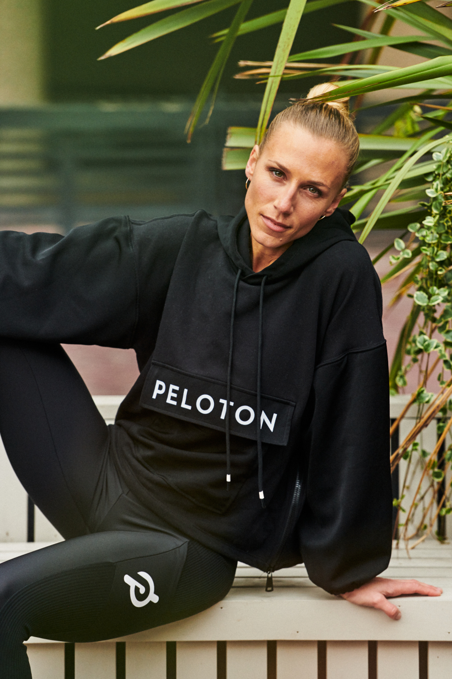 Dominic Marley Sports lifestyle and fashion photographer shoots Irene Scholz for Peloton
